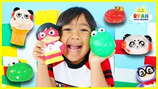 Download Guess the Squishy Toys Challenge with Ryan's World Toys! Video