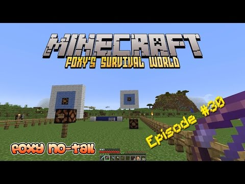 Minecraft Survival - How to build am Archery Range [30]