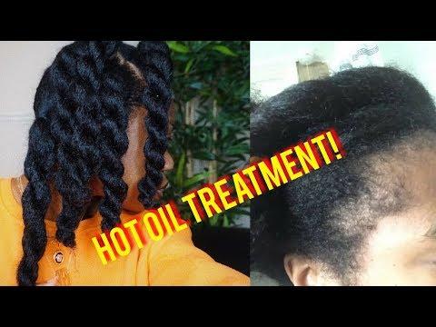 NATURAL HAIR | DIY HOT OIL TREATMENT/HAIR GROWTH OIL  FOR DRY NATURAL HAIR