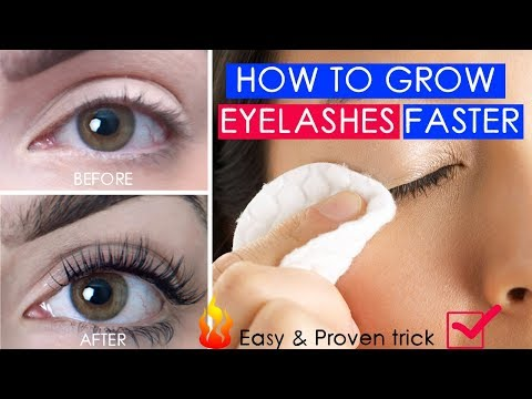 How to grow eyelashes with coconut oil | Coconut oil for eyelashe |  Eyelashes longer  coconut oil
