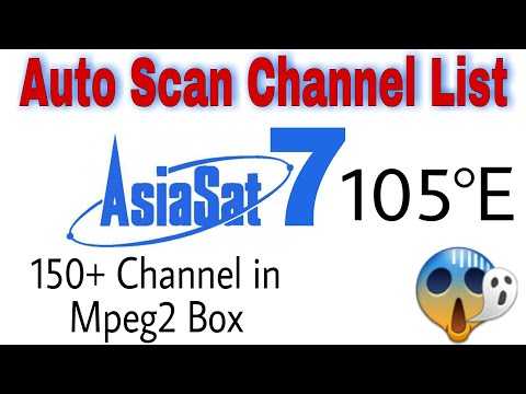 Asiasat 7 Channel List|Asiasat7105°E | Asiasat 7 c band mpeg2 channels| Asiasat frequency|Asiasat 3s