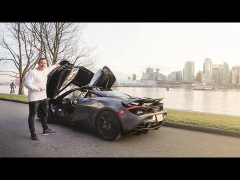 EXOTIC CAR TOUR of Vancouver in McLaren 720S!