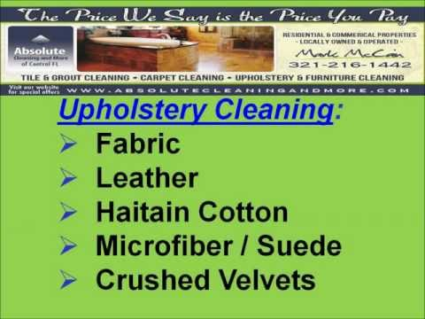 Orlando 24 Hour Emergency Furniture Cleaning 321-216-1442