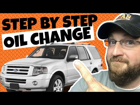 How to Change Oil on Ford Expedition
