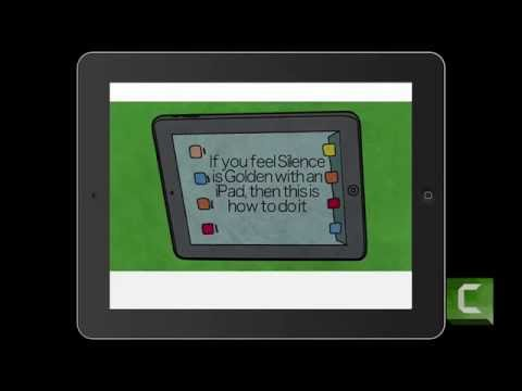 Beginning computer iPad lessons  How to Turn Off your iPad click sounds