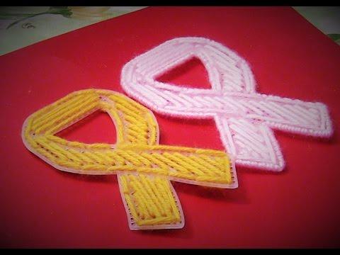 Awareness Ribbons Plastic Canvas