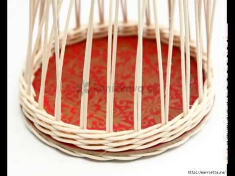 how to basket woven of twigs