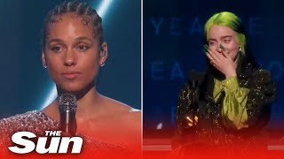 Grammys 2020 highlights - stars pay tribute to Kobe Bryant and Billie Eilish sweeps major awards