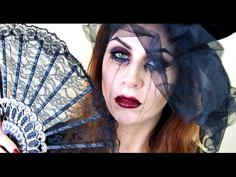 Black Widow Makeup Tutorial | Easy, Glam Halloween Look.
