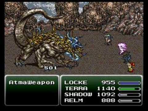 Final Fantasy VI Atma Weapon in 39 seconds (No overleveling)