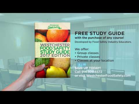 Free Servsafe Study Guide. Westchester County Food Safety. Food Managers Safety Certification.