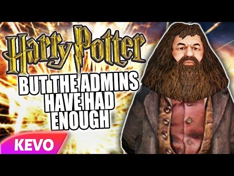 Harry Potter but it's a Gmod roleplay server