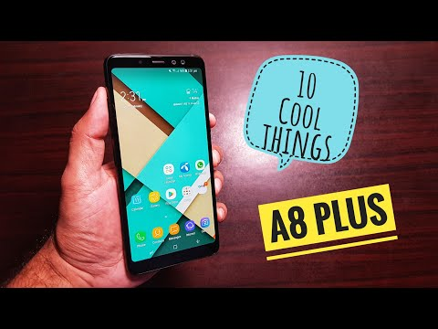10 cool things to do with Samsung Galaxy A8 Plus!