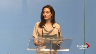 Angelina Jolie takes UN to task for not doing more to fight violence against women