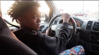 TEACHING DEDE 3X HOW TO DRIVE!!