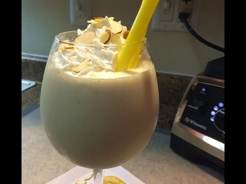Banana Cream Pie Milkshake!  VITAMIX Pro 750!