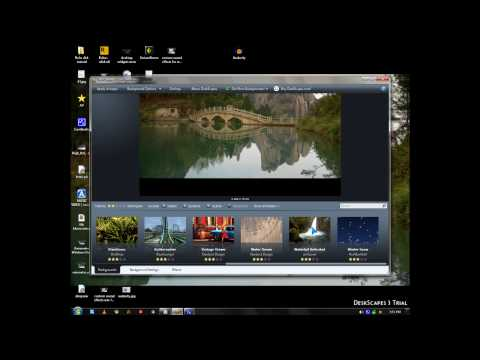 Stardock Deskscape 3 adds animated video file as your Desktop Background in Windows