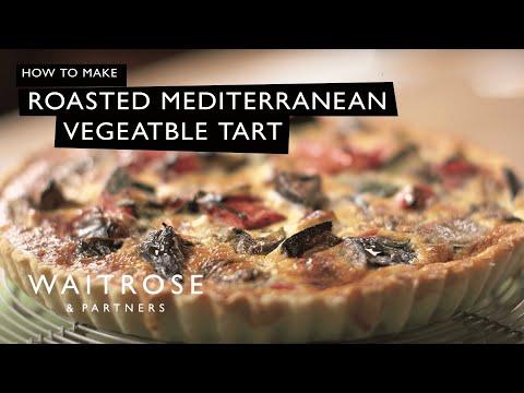 Roasted Mediterranean Vegetable Tart | Waitrose