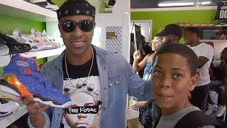 LUCKIEST FAN EVER !!!  + I GOT SOME HEATTTT!!! SHOE VLOG