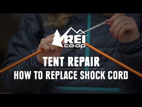 How to Replace the Shock Cord in a Tent Pole    REI