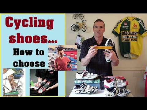 Fitting and sizing your cycling shoes