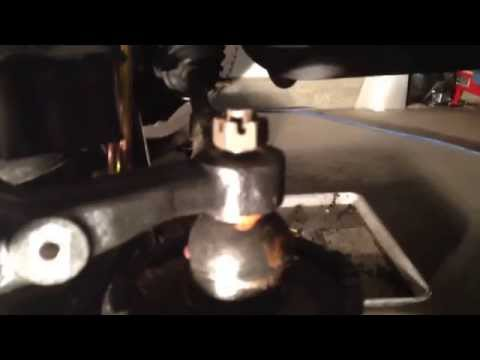 Mustang tie rod end spinning while tightening remedy