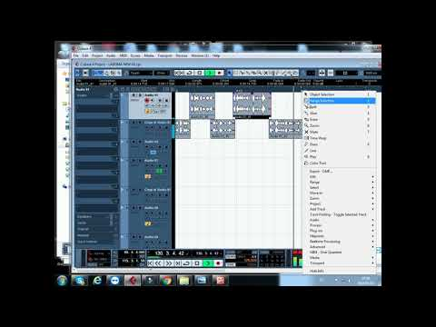 How to do  a radio advert with Cubase