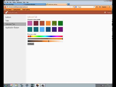 Mozilla/Aurora add-on : change the color of your tabs and buttons with Colorlicious 1.1 !