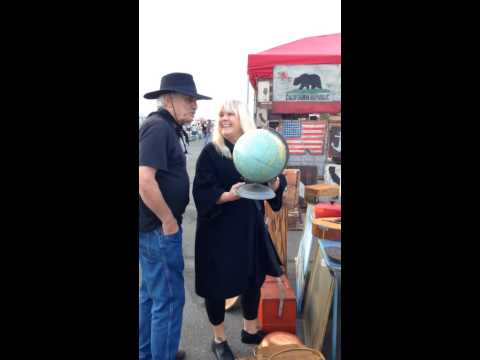 #ShopChairishLive at Alameda Flea Market with Victoria Smith of SF Girl by Bay