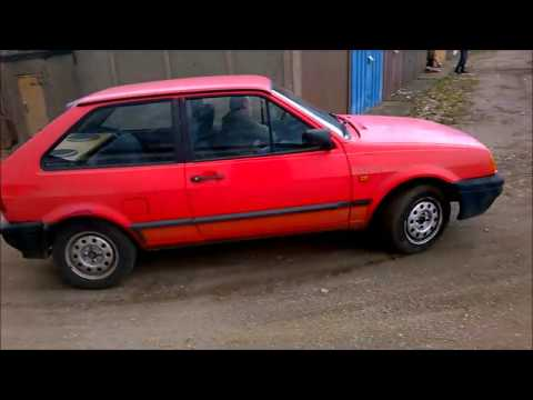 VW Polo 86c 2f- Exhaust Cut off! STRAIGHT PIPE Sound! New Exhaust install