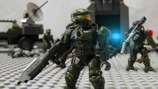 Halo Mega Bloks: Into The Fray Part 2 (stop-motion Battle)