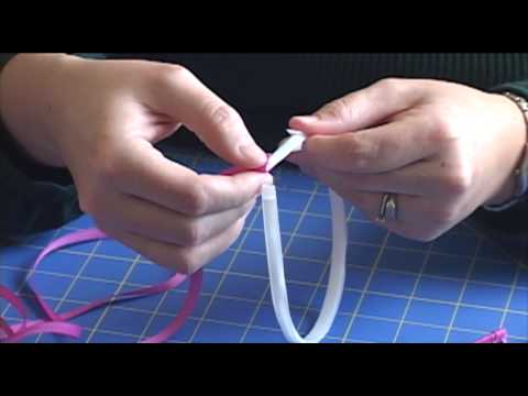 How To Wrap A Headband With Ribbon