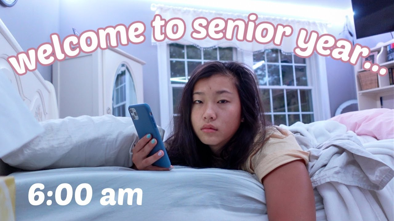 LAST FIRST DAY OF HIGHSCHOOL... (first day of senior year vlog)