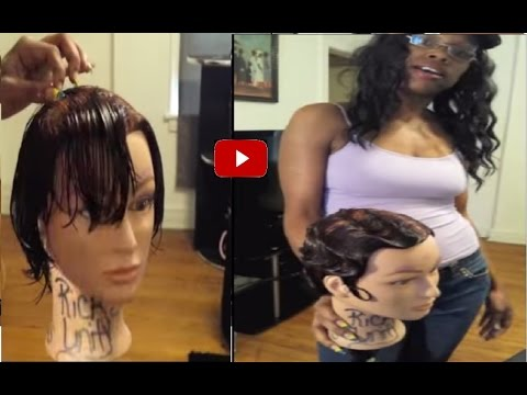 Amazing Finger Waves in Minutes! - SUPER EASY Hair Tutorial!