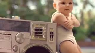 Pikachu music dance in small baby's