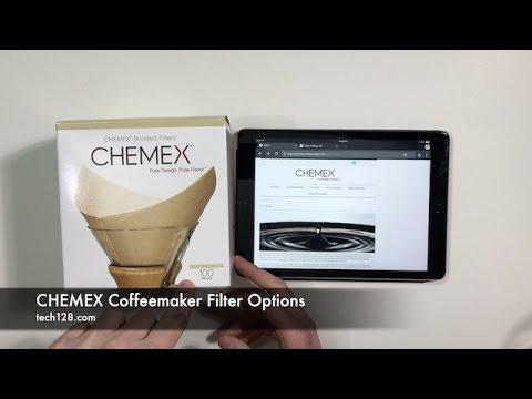 CHEMEX Coffeemaker Filter Options