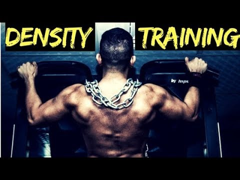 Density Training: Build More Muscle in Less Time