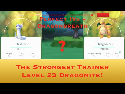 Obtaining a Perfect 100% IV Dragonite! (Max CP at Trainer Lv. 23) - 【Pokémon Go】