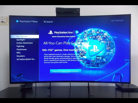 PlayStation Now has OFFICIALLY arrived on Samsung Smart TV's - Full Review & Demo