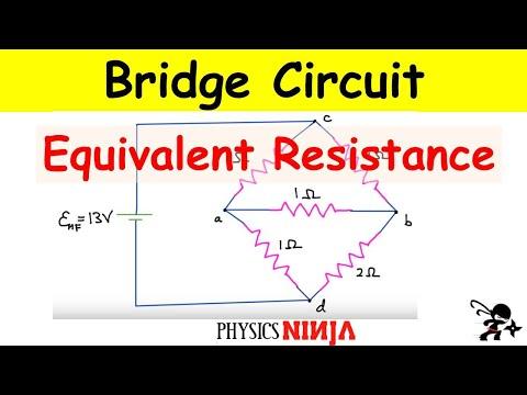 Bridge Circuit Equivalent Resistance