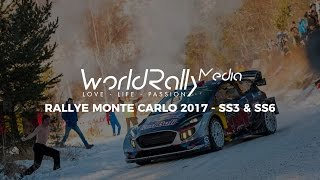 RALLYE MONTE CARLO 2017 - SS3 & SS6 - DAY 2 [PURE SOUND, FLATOUT]