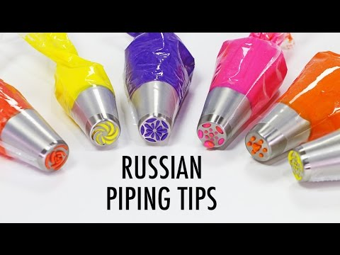 RUSSIAN PIPING TIPS - What are they & What do they do?