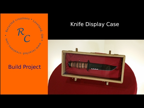 How to make a Knife Display Box