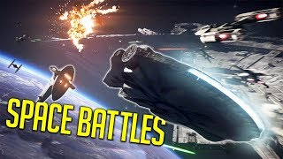 Flying The Millenium Falcon! [Battlefront 2]