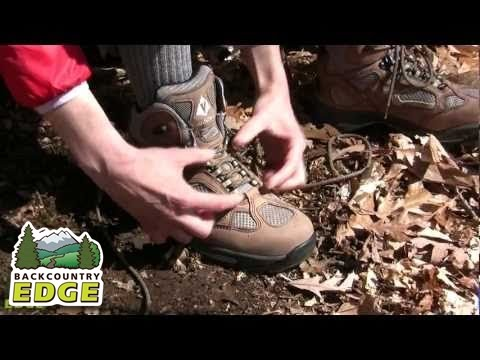 How to Lace a Hiking Boot For Better Fit