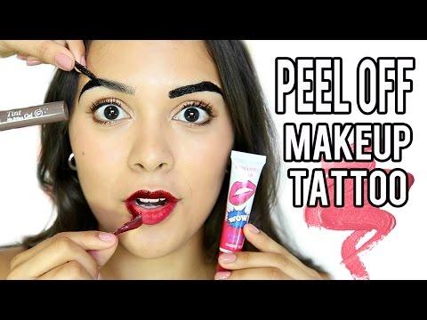 Beauty Busters: Poop or Woop? PEEL OFF MAKEUP TATTOOS?!