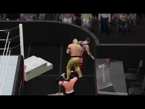 Table Physics & The Floating Kalisto (WWE 2K16 Glitch)