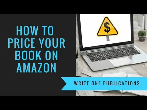 How To Sell Books: Pricing Your Book On Amazon!