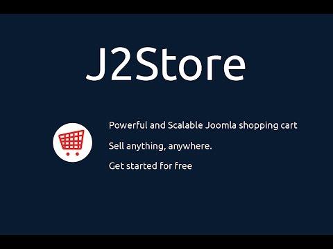 Quickstart for J2Store core version