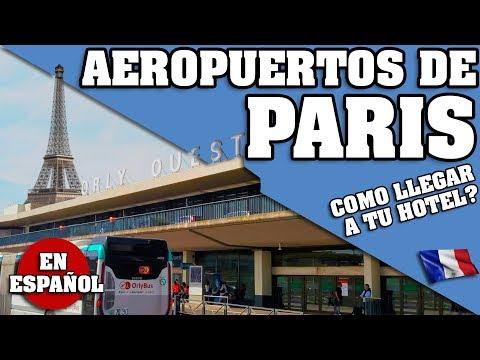 PARIS. COMO LLEGAR A TU HOTEL DESDE CHARLES DE GAULLE, ORLY ETC ? SERIE PARIS PARTE 2